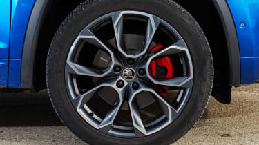 Skoda Kodiaq vRS - wheel