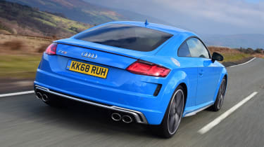 Audi TTS - rear