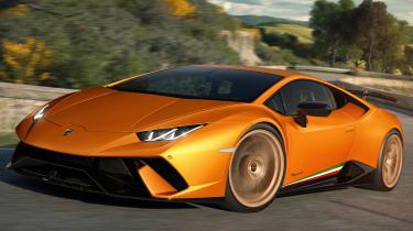 Lamborghini Huracan Performante - front cornering