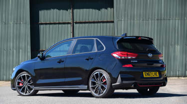 Hyundai i30 N - rear static