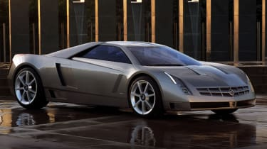 cadillac cien concept car the island