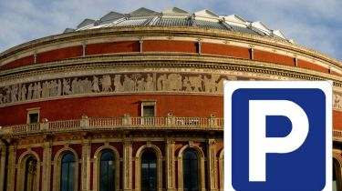Albert Hall parking space for sale