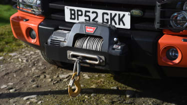 Land Rover Discovery Mk2 - winch
