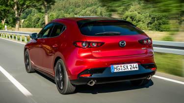 Mazda 3 SkyActiv-X - rear