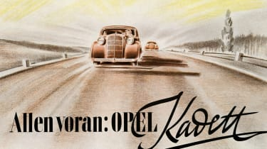 Opel Kadett poster