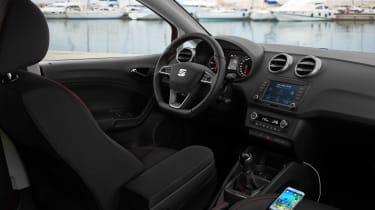 SEAT Ibiza 2015 facelift - interior