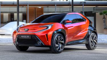 Toyota Aygo X prototype - front