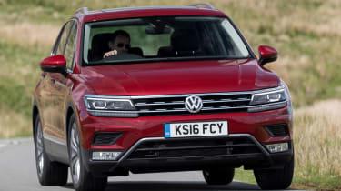 Volkswagen Tiguan 2.0 BiTDI - front