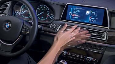 Hand gesture control