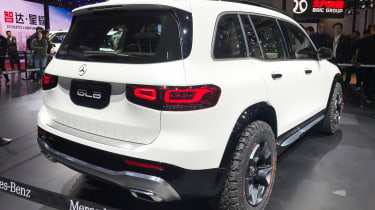 Mercedes GLB Concept - Shanghai rear
