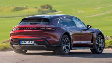Porsche Taycan Cross Turismo - rear cornering