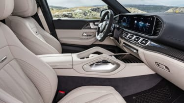 Mercedes-AMG GLE 63 S - front seats