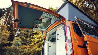 Ford Transit Custom Nugget - rear door open