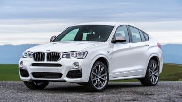 BMW X4 M40i - front quarter