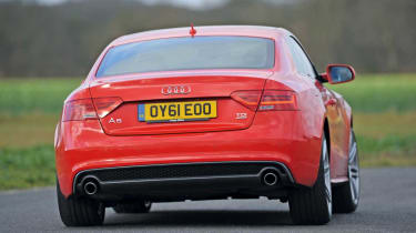 Audi A5 Coupe rear cornering