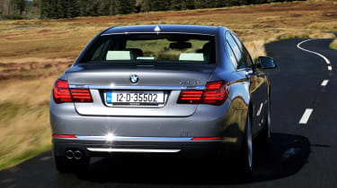 BMW 730d rear action