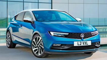 New Vauxhall Astra - front (watermarked)