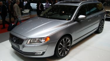 The Volvo V70 estate is based on the S80 luxury saloon.