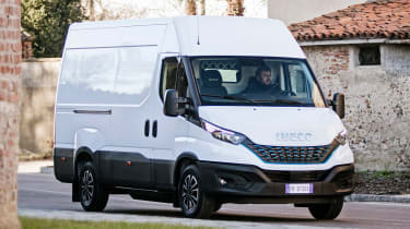 Iveco Daily - town driving