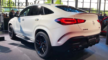 Mercedes-AMG GLE 53 - Frankfurt rear static