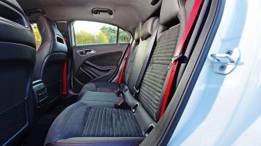 Mercedes A 250 AMG - rear seats