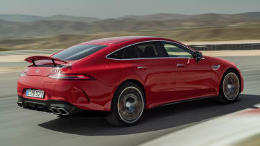 Mercedes-AMG GT 4-Door 63 S E-Performance - rear tracking