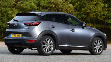 Mazda cx-3 static rear