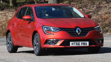 Renault Megane long term test - action front
