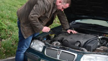 How a cheap used car could save you money - Rover bonnet
