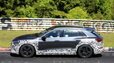 Audi e-tron S - spyshot 4