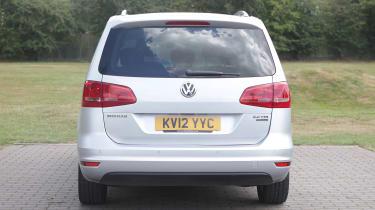 Used Volkswagen Sharan - full rear