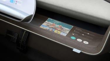 Hyundai 45 Concept - interior detail