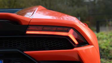 Lamborghini Huracan Evo Spyder - rear light