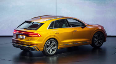 New Audi Q8 reveal - rear