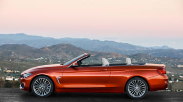 BMW 4 Series facelift 2017 - Convertible side