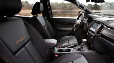 Ford Ranger Wildtrack - cabin
