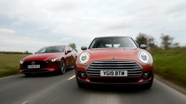 MINI Clubman vs Mazda 3 - head-to-head