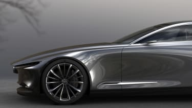 Mazda Vision Coupe concept - side detail