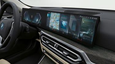 BMW i4 - interior