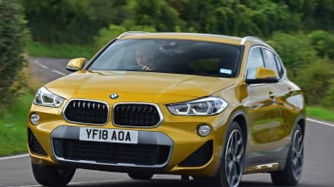 bmw x2 tracking front