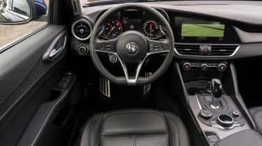 Alfa Romeo Giulia - dash