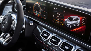 Mercedes-AMG GLS 63 - cabin
