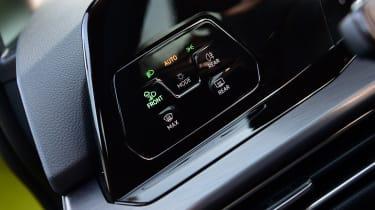 Volkswagen Golf Mk8 - touch controls