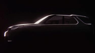 Land Rover Discovery teaser side