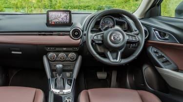Mazda CX-3 GT Sport - dash