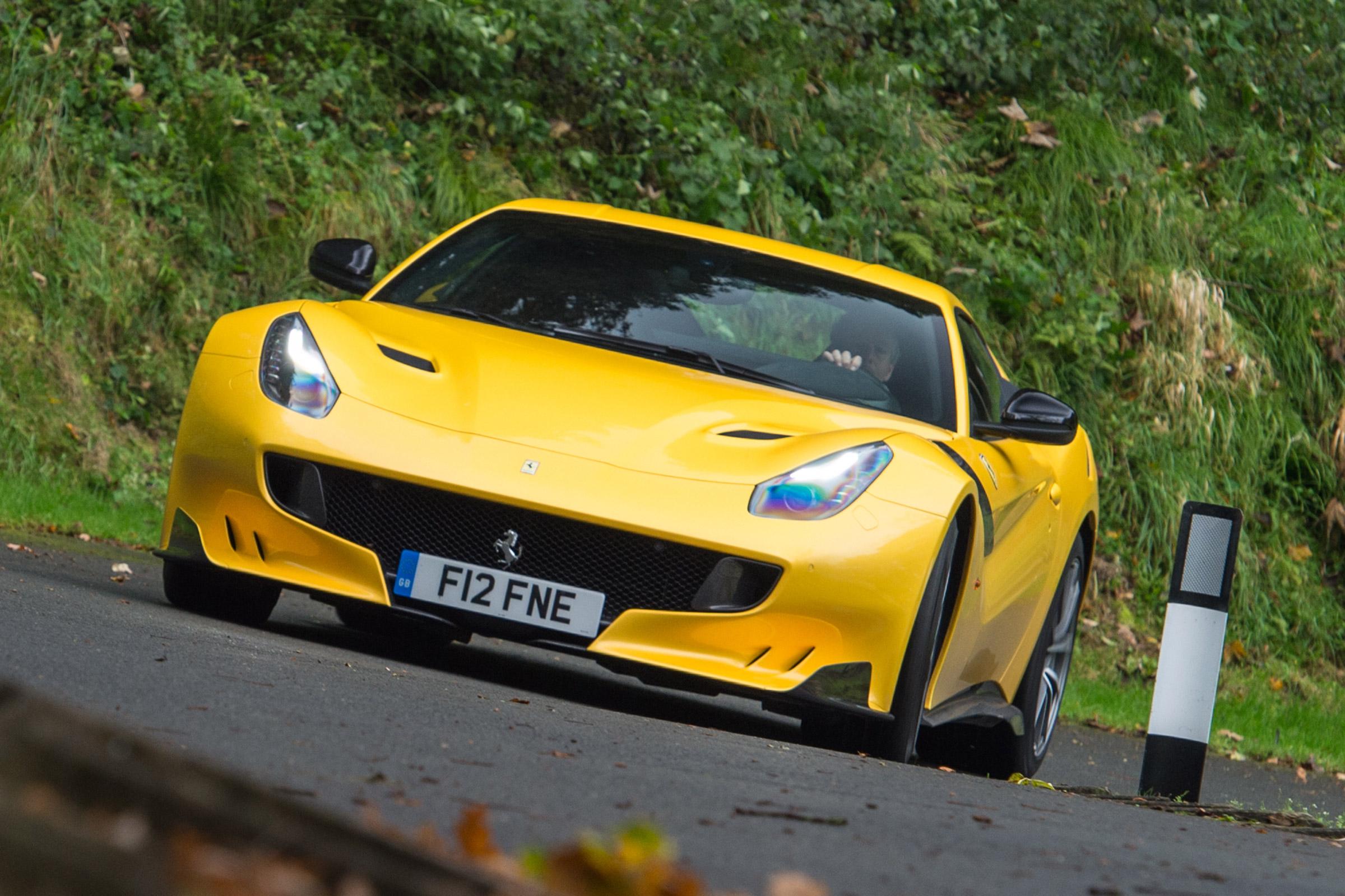 Ferrari F12tdf Review Auto Express