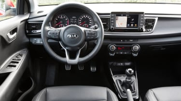 New Kia Rio - official interior