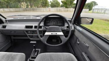 Long term Nissan Micra - second report - mk1 Micra interior