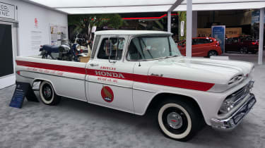 Honda Chevrolet pick-up - LA Motor Show