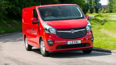 Vauxhall Vivaro cornering